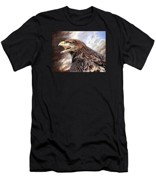 Eagle Cry Men's T-Shirt (Athletic Fit)