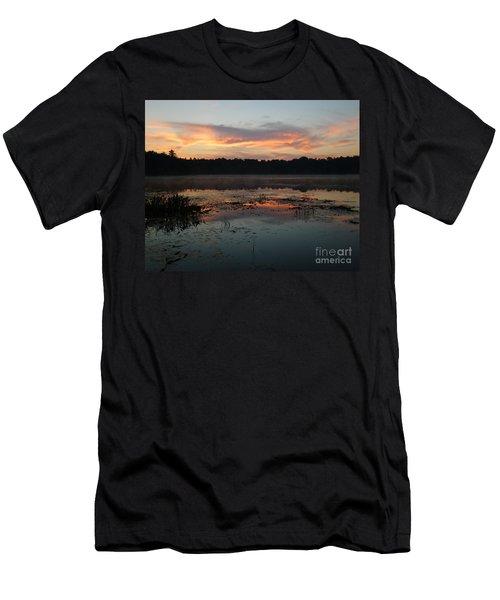 Eagle River Sunrise No.5 Men's T-Shirt (Athletic Fit)