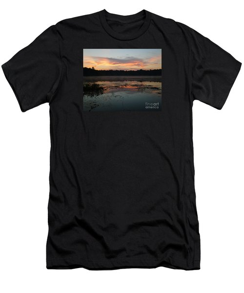 Eagle River Sunrise No.5 Men's T-Shirt (Athletic Fit)