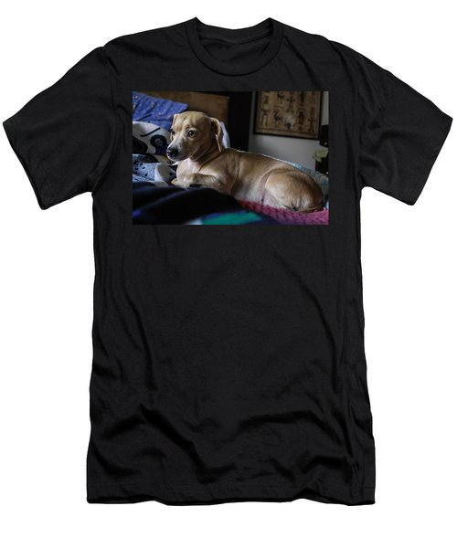 Men's T-Shirt (Slim Fit) featuring the photograph Early by Angela J Wright