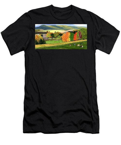 Early Autumn At Bear Meadows Farm Men's T-Shirt (Athletic Fit)