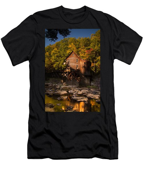 Early Autumn At Glade Creek Grist Mill Men's T-Shirt (Athletic Fit)