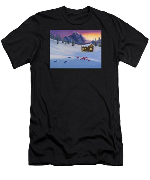 Early Christmas Morn Men's T-Shirt (Athletic Fit)