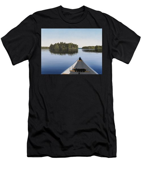 Early Evening Paddle Aka Paddle Muskoka Men's T-Shirt (Athletic Fit)