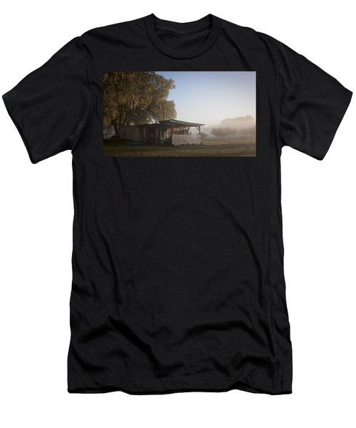 Men's T-Shirt (Slim Fit) featuring the photograph Early Morning On The Farm by Lynn Palmer