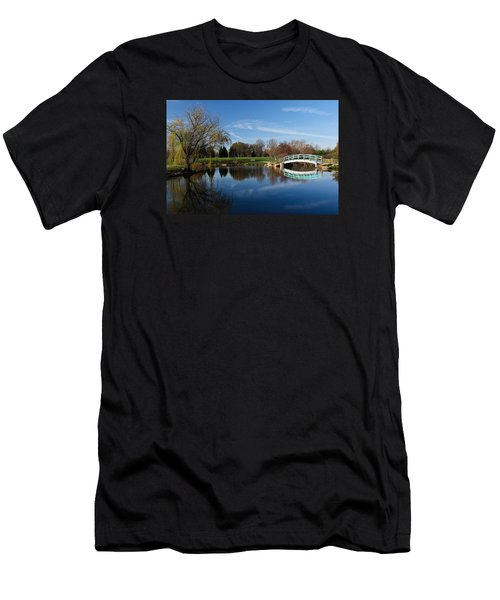 Early Morning Retreat Men's T-Shirt (Slim Fit) by Julie Andel