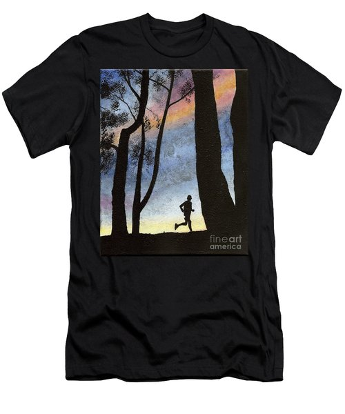 Early Morning Run Men's T-Shirt (Athletic Fit)