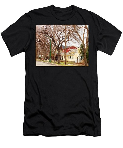Early Spring Street Men's T-Shirt (Athletic Fit)