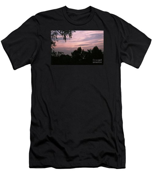 Early Sunrise In Central Illinois Men's T-Shirt (Athletic Fit)