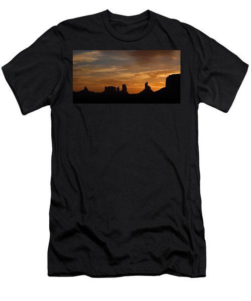 Early Sunrise Over Monument Valley Men's T-Shirt (Athletic Fit)