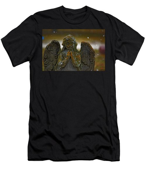 Earth Angel Men's T-Shirt (Athletic Fit)