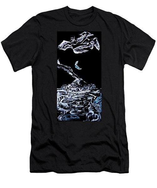 Earth Men's T-Shirt (Slim Fit) by Ryan Demaree
