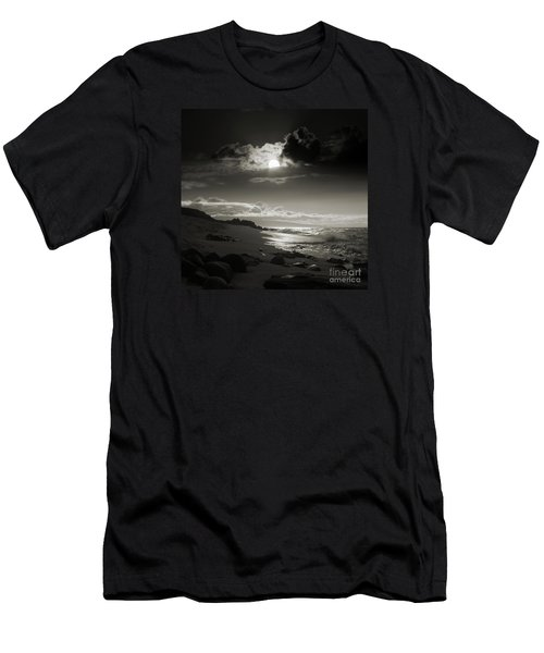 Earth Song Men's T-Shirt (Slim Fit) by Sharon Mau