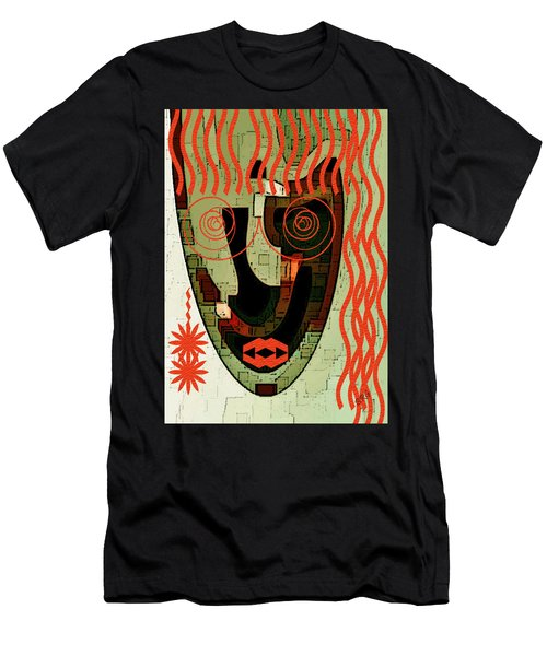 Earthy Woman Men's T-Shirt (Athletic Fit)