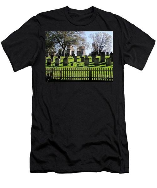 Men's T-Shirt (Slim Fit) featuring the photograph East Hampton  by Ed Weidman