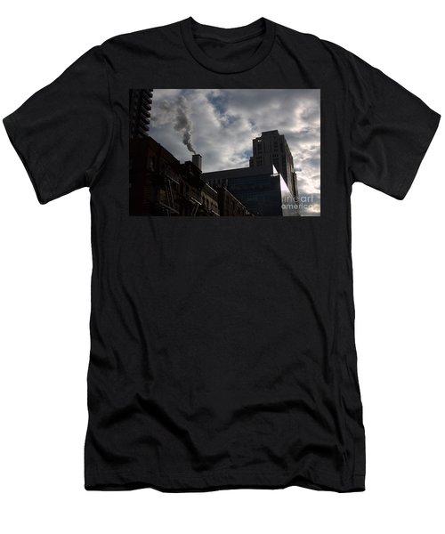 East Side Smoke Men's T-Shirt (Slim Fit) by Steven Macanka