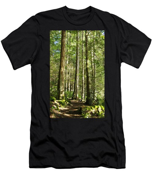 East Sooke Park Trail Men's T-Shirt (Athletic Fit)