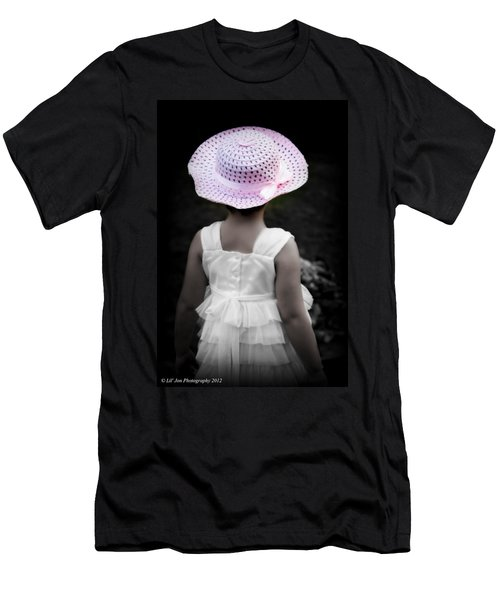 Men's T-Shirt (Slim Fit) featuring the photograph Easter Angel by Jeanette C Landstrom