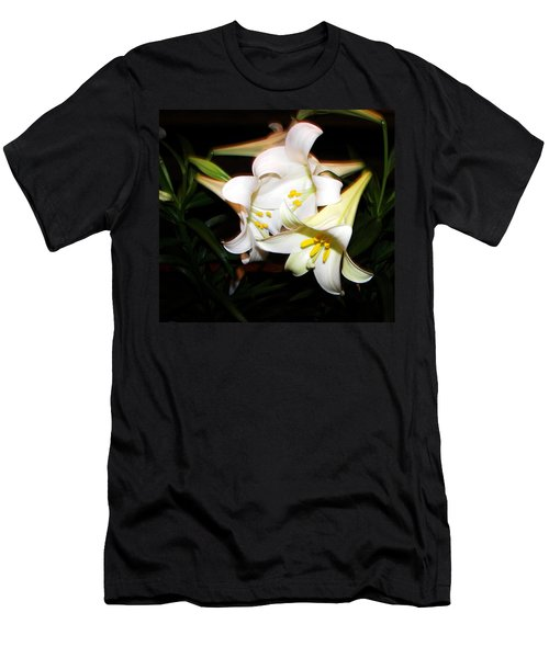 Easter Lilies Men's T-Shirt (Athletic Fit)