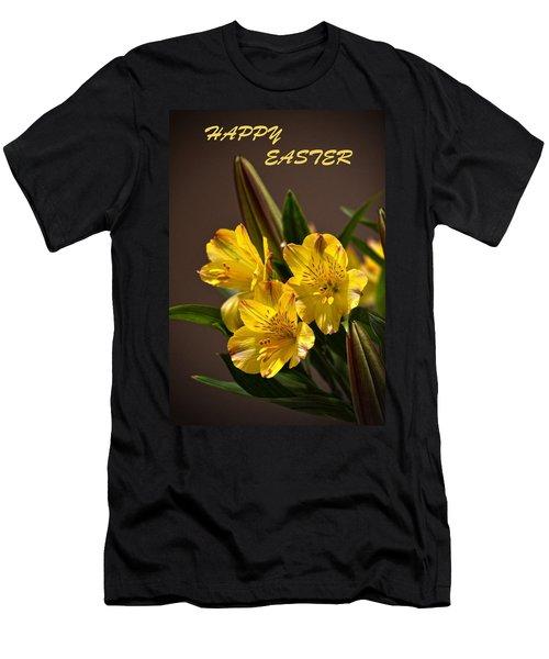 Easter Lilies Men's T-Shirt (Athletic Fit)