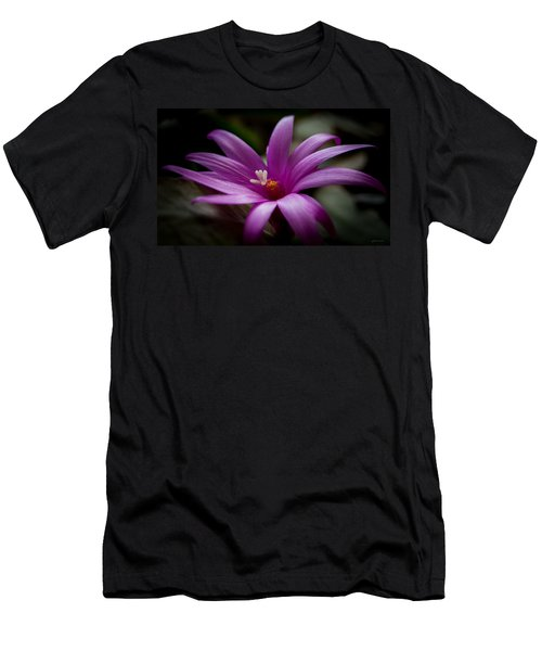 Men's T-Shirt (Slim Fit) featuring the photograph Easter Rose by Steven Milner