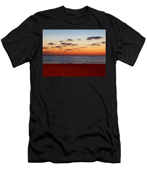 Men's T-Shirt (Slim Fit) featuring the photograph Easter Sunset by Amar Sheow