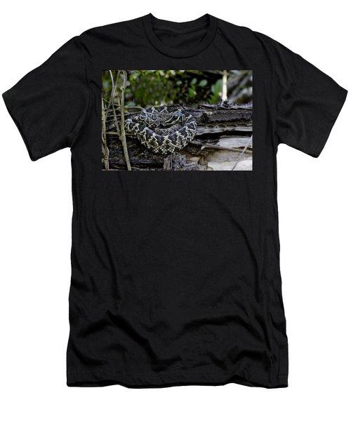 Eastern Diamondback-2 Men's T-Shirt (Athletic Fit)