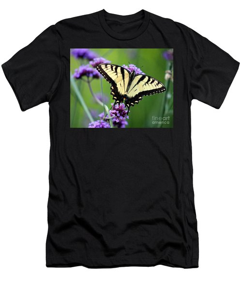 Eastern Tiger Swallowtail Butterfly 2014 Men's T-Shirt (Athletic Fit)
