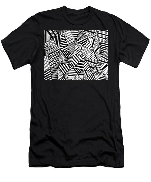 Ebony And Ivory Men's T-Shirt (Slim Fit) by Susie Weber