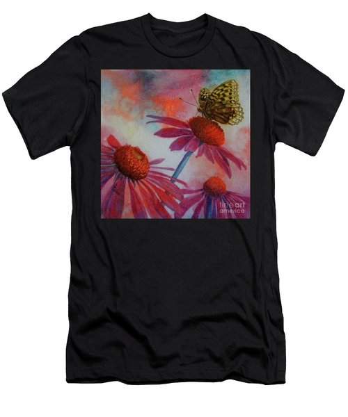 Echinacea Fritillaria Men's T-Shirt (Athletic Fit)