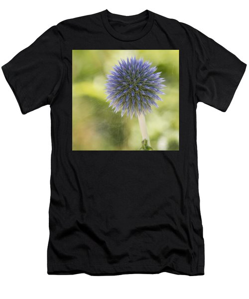 Echinops Blue Men's T-Shirt (Athletic Fit)