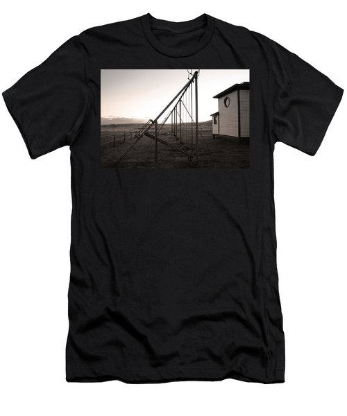 Men's T-Shirt (Slim Fit) featuring the photograph Echoes Of Laughter by Jim Garrison