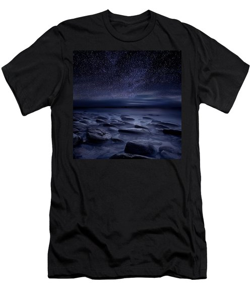Echoes Of The Unknown Men's T-Shirt (Slim Fit) by Jorge Maia