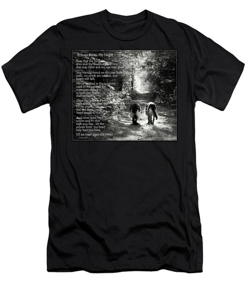 Echos From My Heart Men's T-Shirt (Athletic Fit)