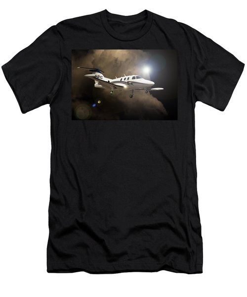Eclipse Landing Men's T-Shirt (Athletic Fit)