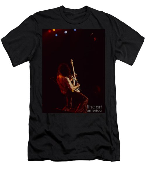 Eddie Van Halen - Van Halen At The Oakland Coliseum 12-2-1978 Rare Unreleased Men's T-Shirt (Athletic Fit)