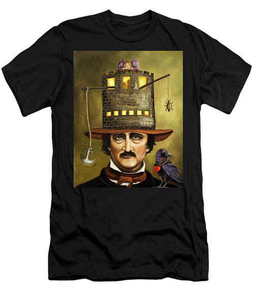 Edgar Allan Poe Men's T-Shirt (Athletic Fit)