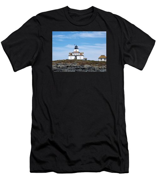 Egg Rock Lighthouse Men's T-Shirt (Athletic Fit)