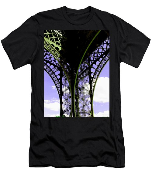 Eiffel Lace Men's T-Shirt (Athletic Fit)