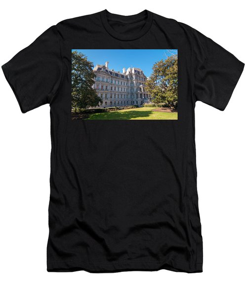 Eisenhower Executive Office Building In Washington Dc Men's T-Shirt (Athletic Fit)