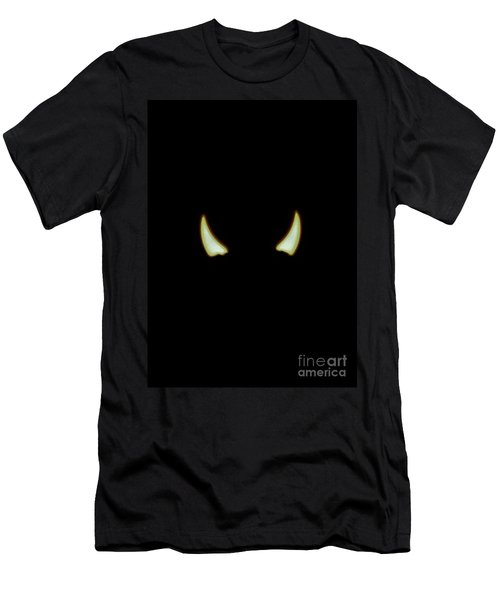 Men's T-Shirt (Slim Fit) featuring the photograph El Diablo by Angela J Wright
