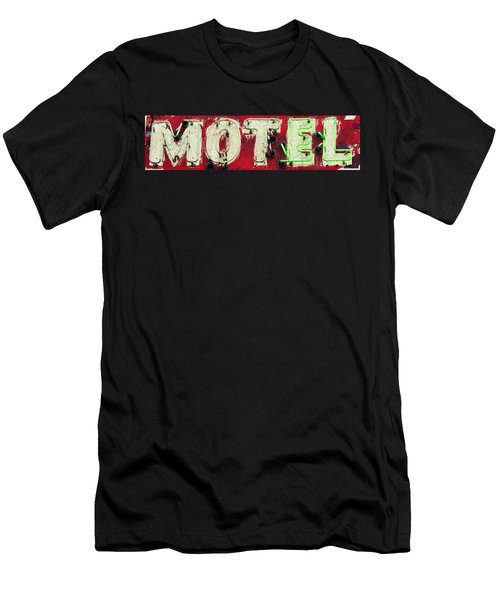 El Motel Men's T-Shirt (Athletic Fit)