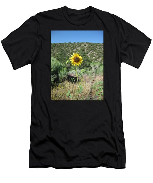 Elated Sunflower Men's T-Shirt (Athletic Fit)