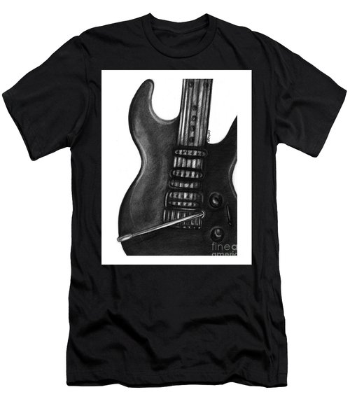 Electric Guitar Men's T-Shirt (Athletic Fit)
