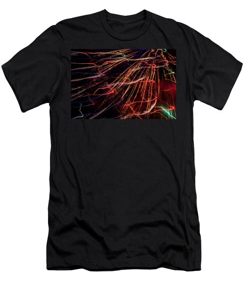 Electricity Men's T-Shirt (Athletic Fit)