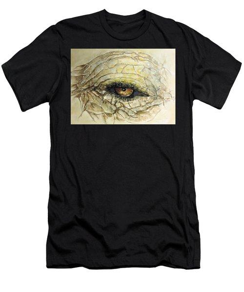 Elephant Eye Men's T-Shirt (Athletic Fit)