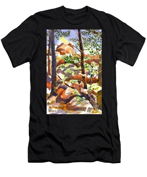 Elephant Rocks Revisited IIb Men's T-Shirt (Athletic Fit)