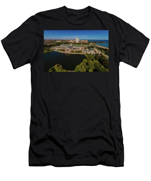 Elevated View Of The Museum Of Science Men's T-Shirt (Athletic Fit)