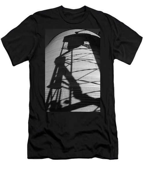 Elevator Shadow Men's T-Shirt (Athletic Fit)