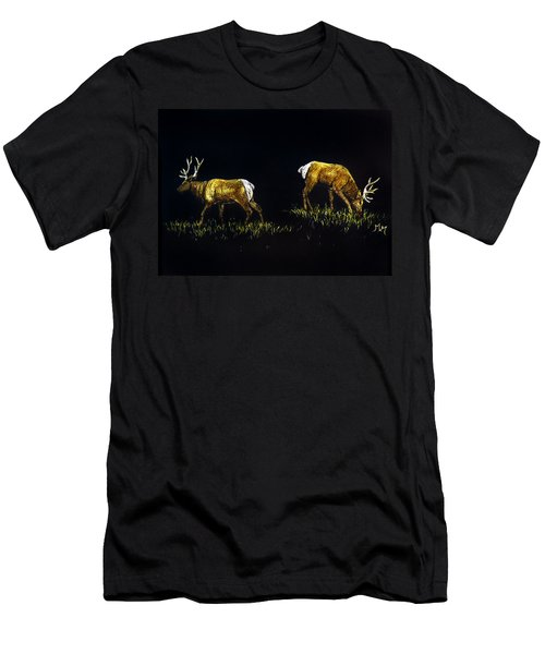 Elk Bulls Men's T-Shirt (Athletic Fit)